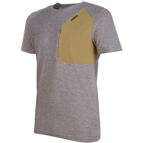 Mammut Crashiano Pocket T-Shirt Men Shark Melange-Boa